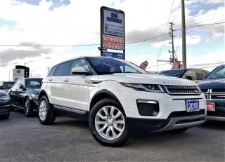 Used 2018 Land Rover Range Rover Evoque No Accident|One owner |SE |NAV|H seat | Certified for sale in Brampton, ON