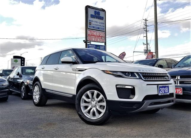 2018 Land Rover Range Rover Evoque No Accident|One owner |SE |NAV|H seat | Certified