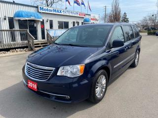 Used 2016 Chrysler Town & Country TOURING-DVD-REAR VIEW CAMERA-LEATHER for sale in Stoney Creek, ON