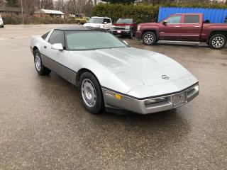 Used 1984 Chevrolet Corvette for sale in Mount Brydges, ON