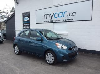 Used 2018 Nissan Micra SV POWERGROUP, A/C, LOW MILEAGE!! for sale in Richmond, ON