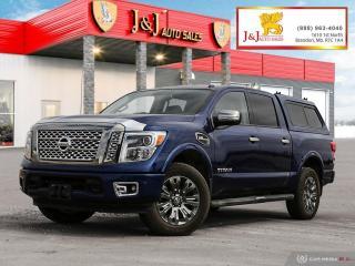 Used 2017 Nissan Titan 4X4 ,C.Cab, Platinum Reserve for sale in Brandon, MB