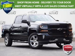 Used 2018 Chevrolet Silverado 1500 2LT CREW CAB | TRUE NORTH EDITION | 4WD | 5.3L | LEATHER | SPRAY IN LINER | NAV for sale in Waterloo, ON