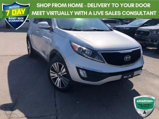 Used 2016 Kia Sportage EX Luxury LEATHER AWD NAVIGATION SUNROOF for sale in Hamilton, ON