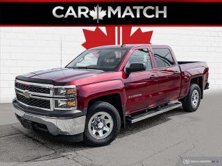 Used 2014 Chevrolet Silverado 1500 CREW CAB / AC / V8 / ONLY 85,404 KM for sale in Cambridge, ON