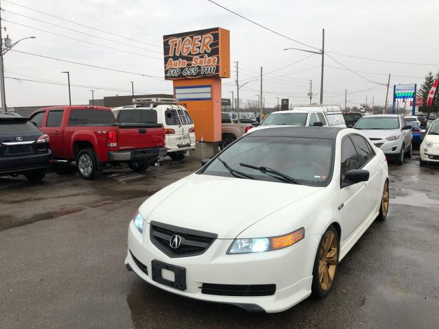 2005 Acura TL RED LEATHER*SUB*EXHAUST*WHEELS*AS IS SPECIAL
