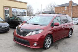 Used 2014 Toyota Sienna SE 8 Passengers Sunroof Leather for sale in Brampton, ON