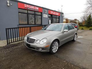 Used 2009 Mercedes-Benz E-Class 3.0L | Super Clean | Leather | Sunroof for sale in St. Thomas, ON