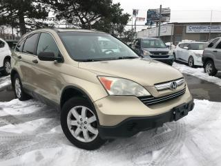 Used 2007 Honda CR-V AWD,ROOF,ALLOYS,SAFETY+3YEARS WARRANTY INCLUDED for sale in Toronto, ON