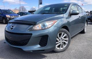 Used 2012 Mazda MAZDA3 GS-SKY,HEATED SEAT,BLUETOOTH,CERTIFIED,NO-ACCIDENT for sale in Mississauga, ON