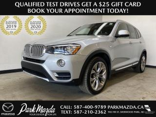 Used 2017 BMW X3 X-DRIVE for sale in Sherwood Park, AB