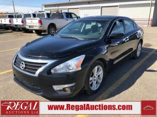 Used 2015 Nissan Altima SV 4D Sedan AT 2.5L for sale in Calgary, AB