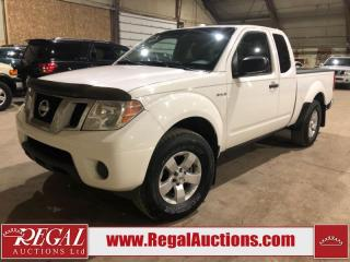 Used 2013 Nissan Frontier SV EXT CAB 4WD 4.0L for sale in Calgary, AB