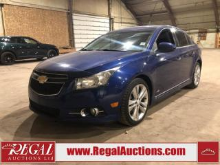 Used 2013 Chevrolet Cruze LTZ 4D Sedan Turbo FWD for sale in Calgary, AB