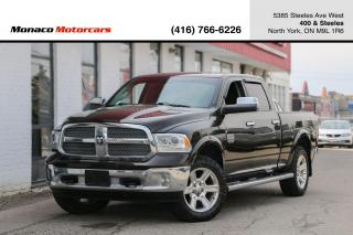 Used 2014 RAM 1500 LARAMIE LONGHORN ECODIESEL - LEATHER|NAVI|BACKUP for sale in North York, ON