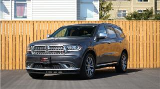 Used 2017 Dodge Durango AWD Citadel Platinum - FULLY LOADED - 7 PASSENGER! for sale in Langford, BC