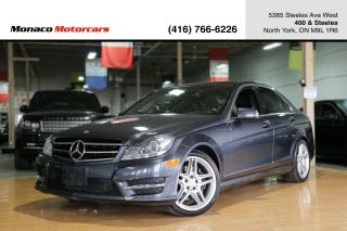 Used 2014 Mercedes-Benz C-Class C350 4MATIC - PANO|NAVI|BACKUP|LANEKEEP|BLINDSPOT for sale in North York, ON