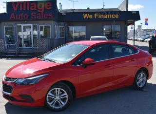 Used 2017 Chevrolet Cruze LT Auto HEATED SEATS! CRUISE CONTROL! BACKUP CAMERA! for sale in Saskatoon, SK