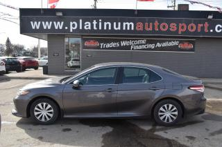 Used 2019 Toyota Camry LE NO ACCIDENTS!! BACK UP CAMERA!! BLUETOOTH!! for sale in Saskatoon, SK