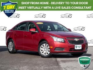 Used 2011 Chevrolet Cruze LT Turbo Local Trade - Low Mileage for sale in Welland, ON