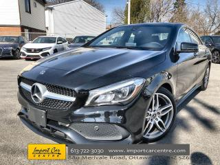 Used 2018 Mercedes-Benz CLA-Class LEATHER  PANO ROOF  AMG APPEARANCE  NAVI for sale in Ottawa, ON