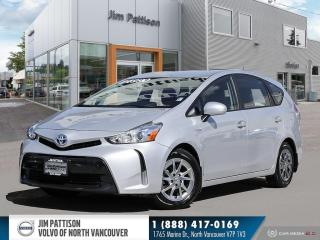 Used 2017 Toyota Prius V LUXURY PACKAGE - LOCAL - ONE OWNER - LOW MILEAGE for sale in North Vancouver, BC