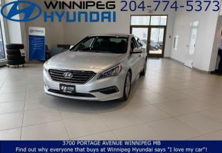 Used 2017 Hyundai Sonata 2.4L GL - Drive mode select, Keyless enrty, Cruise control for sale in Winnipeg, MB