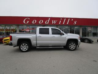 Used 2015 GMC Sierra 1500 SLT CREWCAB,  HWY KM , TOW MIRRORS for sale in Aylmer, ON