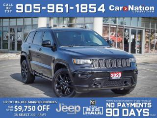 Used 2020 Jeep Grand Cherokee Altitude 4x4| SOLD| SOLD| SOLD| SOLD| for sale in Burlington, ON