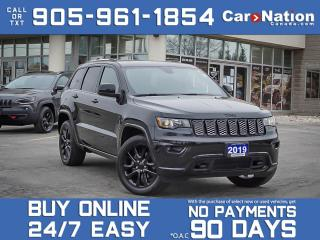 Used 2019 Jeep Grand Cherokee Altitude 4x4| LOCAL TRADE| SUNROOF| NAVI| for sale in Burlington, ON