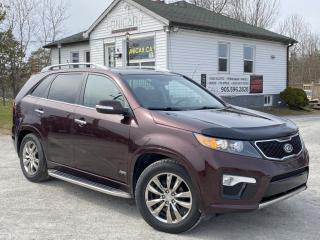 Used 2012 Kia Sorento No-Accidents AWD V6 SX 7-PASS Navi PanoRoof Backup Cam for sale in Sutton, ON