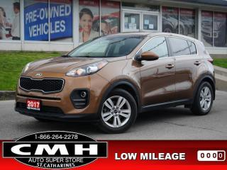 Used 2017 Kia Sportage LX  CAM BLUETOOTH S/W-AUDIO HTD-SEATS 17-AL for sale in St. Catharines, ON