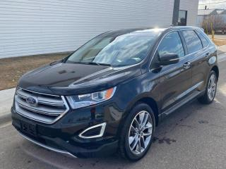 Used 2016 Ford Edge Titanium AWD #Vented Seats #Leather #Navigation for sale in Brandon, MB