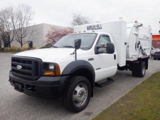 Used 2006 Ford F-450 SD Dumping box  2WD Garbage Truck Diesel for sale in Burnaby, BC