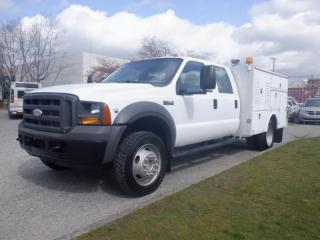 Used 2005 Ford F-450 XL Super Duty Crew Cab 4WD Service Truck for sale in Burnaby, BC