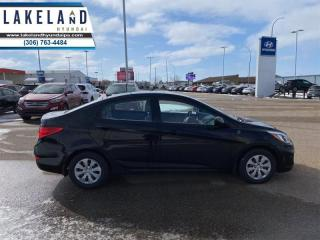 Used 2016 Hyundai Accent GL  - $97 B/W - Low Mileage for sale in Prince Albert, SK