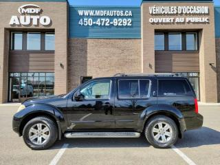 Used 2009 Nissan Pathfinder SE, Traction intégrale 7 Passagers for sale in St-Eustache, QC