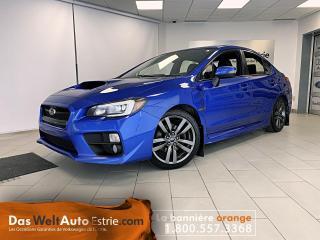Used 2016 Subaru WRX Sport-tech, Cuir, Manuel for sale in Sherbrooke, QC