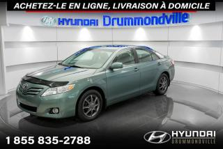 Used 2011 Toyota Camry XLE + GARANTIE + TOIT + CUIR + A/C + WOW for sale in Drummondville, QC