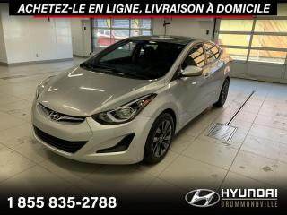Used 2014 Hyundai Elantra GL + GARANTIE + 40 913 KM + A/C + WOW !! for sale in Drummondville, QC