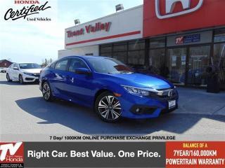Used 2017 Honda Civic Sedan EX-T for sale in Peterborough, ON