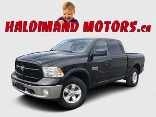 Used 2018 RAM 1500 OUTDOORSMAN CREW 4WD for sale in Cayuga, ON