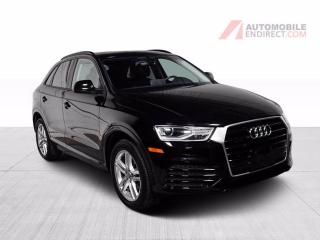 Used 2018 Audi Q3 KOMFORT QUATTRO CUIR TOIT PANO MAGS NAV for sale in St-Hubert, QC