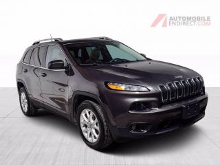 Used 2018 Jeep Cherokee LATITUDE V6 CUIR TOIT PANO MAGS CAMERA DE RECUL for sale in St-Hubert, QC