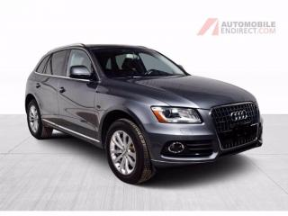Used 2017 Audi Q5 PROGRESSIV QUATTRO GPS CUIR TOIT CAMÉRA DE RECUL for sale in St-Hubert, QC