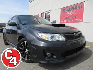 Used 2012 Subaru Impreza WRX LIMITED TURBO CUIR TOIT MAGS BLUETOOTH for sale in St-Jérôme, QC