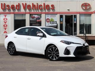 Used 2017 Toyota Corolla XSE HEAT-SEATS & STEERING REV-CAM 1-OWNER LOW-KM for sale in North York, ON