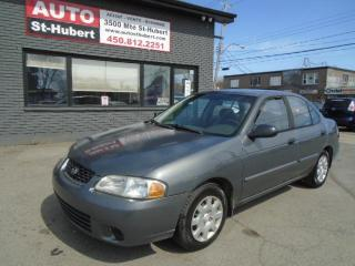 Used 2001 Nissan Sentra XE for sale in St-Hubert, QC
