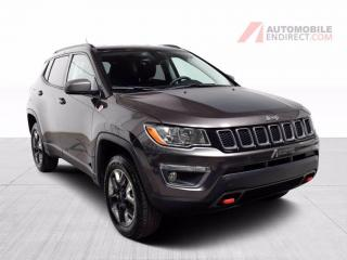 Used 2018 Jeep Compass Trailhawk AWD A/C Mags Cuir Sièges Chauffants for sale in Île-Perrot, QC