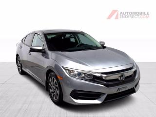 Used 2016 Honda Civic EX A/C Mags Toit Sièges Chauffants Caméra for sale in Île-Perrot, QC